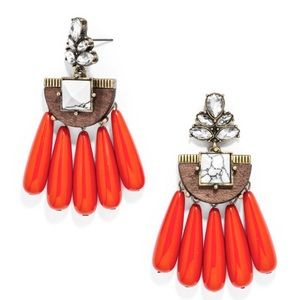 BaubleBar Tonka Drop Red Earrings